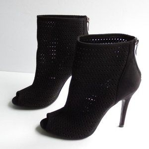 Chinese Laundry Jamboree Perforated Suede bootie